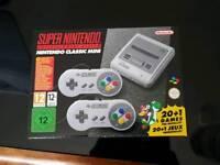 Nintendo SNES MINI brand new