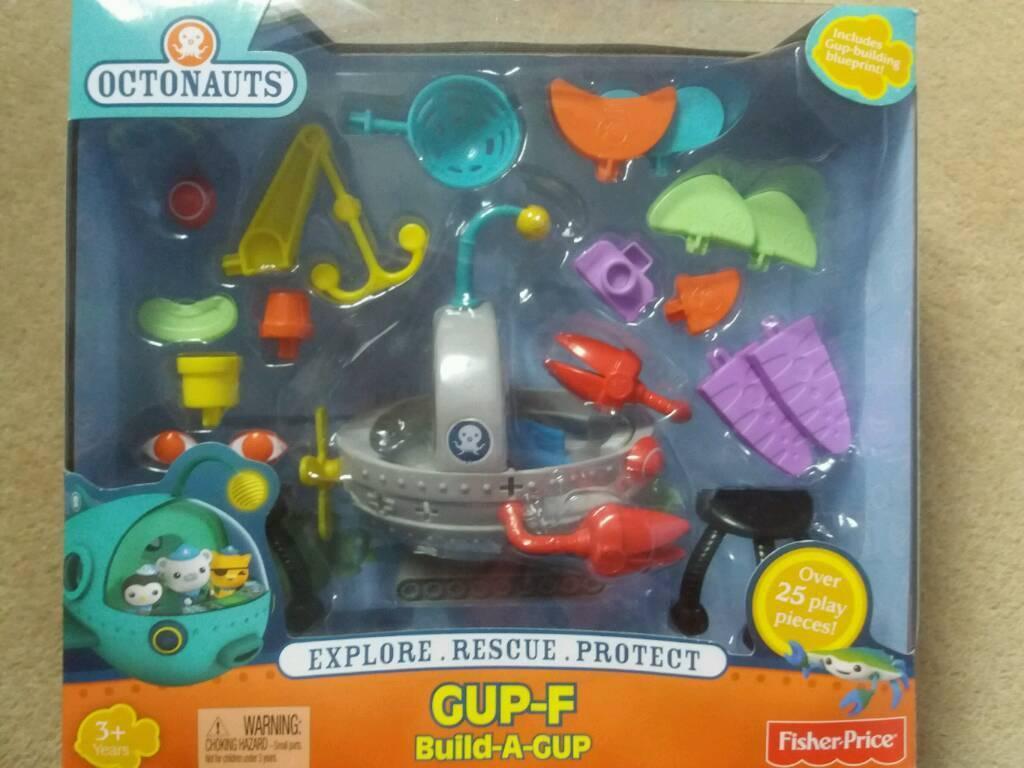 Toy: Octonauts Gup F