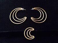 Earrings when choker set