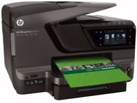 HP 8600 Pro Plus Printer, Scanner, Fax, Copier with Extra Cartridges.