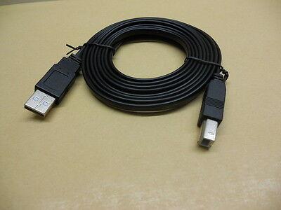 2m USB 2.0 Flachkabel Druckerkabel