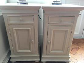 SOLD - Pair of French Antique bedside tables
