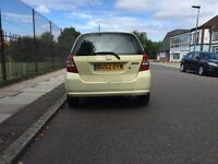 Honda Jazz for sell, Very long MOT, sunroof, drives well, cheap.