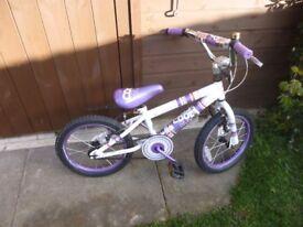 Concept b m x bike.Used