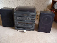 Sanyo music system with remote DCX 701