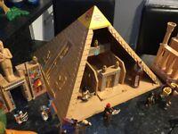 Playmobil Egyptian pyramid, play set £50