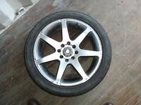 Multy fit alloy wheel