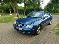 Mercedes-Benz Sports Coup 1.8 CLK200 2drLong MOT+Service History