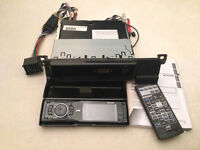 JVC KD-AVX11 In-car stereo COMPLETE SET inc. remote, manual and leads
