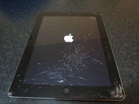 Ipad 3rd Generation cracked screen