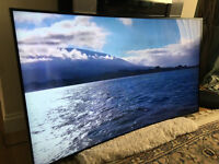"CURVED 55"" SAMSUNG SMART UHD (4K) -FREEVIEW/SAT HD - WIFI -1000hz- LED TV - WARRANTY"