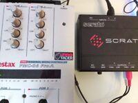 Vestax pmc 06 pro a with innofader plus serato SL non-contact dj scratch mixer rane