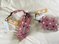 Bailey & Quinn Foldable Umbrella and Shopping Bag – New