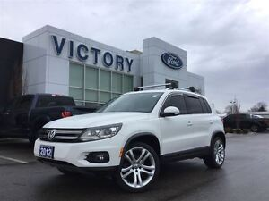 2012 Volkswagen Tiguan HIGHLINE, NAVI, PANO ROOF, BLUETOOTH