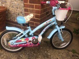 Girls Apollo Cherry Lane 16inch wheel Bike like new