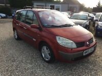 Renault Grand Scenic 1.9 dci. 2005 Left hand drive. 7 seater.