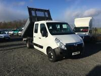 2014 VAUXHALL MOVANO D/CAB TIPPER##1 OWNER DIRECT##