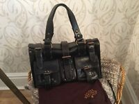 Genuine Mulberry Roxanne in Dark Brown (almost black) - Further Reduced