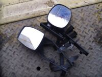 caravan wing mirrors adjustable