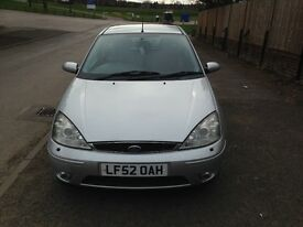 Ford Focus ST170, Recent clutch,MOT August, 500 pounds, good condition...NO OFFERS OR TIMEWASTERS,