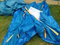 Two person umbrella tent