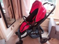 Graco Evo Travel System - Pushchair, Carrycot and Stand, Carseat