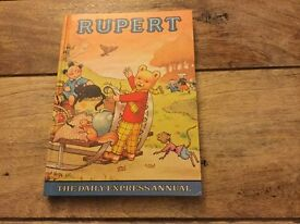 Rupert the Bear , the daily express annual for sale
