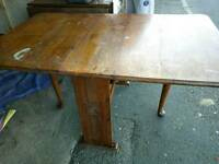 Vintage dining table £20