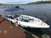 Seapro 22 . Bowrider speed boat bayliner maxum fletcher searay trailer