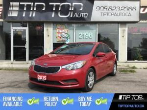 2015 Kia Forte LX+ ** Bluetooth, Eco, Automatic, Low Price **