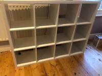 IKEA KALLAX Shelving unit, white 147x147 cm