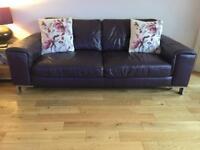 3 Seater sofa / Swivel arm chair