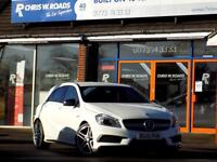 MERCEDES-BENZ A CLASS 2.0 A45 AMG 4MATIC 5dr AUTO 360 BHP ** Sat Nav + Bluetooth + Cruise ** 2015