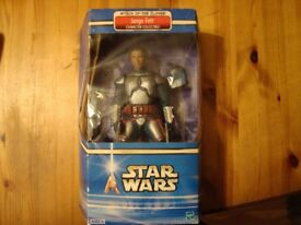 FOR SALE A STAR WARS FIGURE IN A OPENED BOX