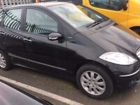 2006 Mercedes A150 5 Door Automatic, Three Owners, NON RUNNER!