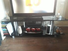 Samsung large glass tv stand