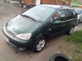 Ford galaxy 1.9TDI 7 seaters,all belts and water pump its changed,all tyres good condition