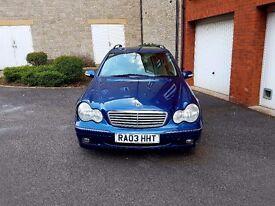 Mercedes c220 cdi auto estate 2003 superb drive