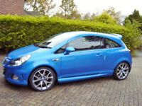 Vauxhall Corsa VXR 2007 57 Blue 37,800m V.G.C. Upgraded Wheels. 2 new tyres F.S.H.