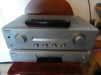 Stereo Hifi Sony Amplifier and CD Player Excellent condition