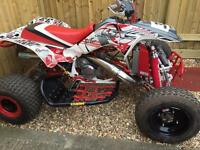 Honda Trx 250r race quad road registered