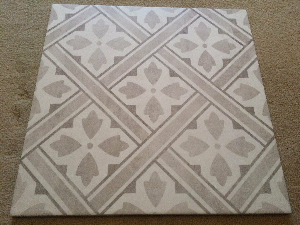 ONE BOX OF LAURA ASHLEY MR JONES GREY TILES AT £1.67 PER TILE | in ...