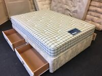 "4ft 6"" Double divan (FREE DELIVERY)"