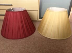 Elegant John Lewis lampshades
