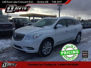 2017 Buick Enclave Premium AWD, NAVIGATION, HTD/CLD SEATS, 2-...
