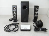 Creative speakers with iPod dock + bluetooth