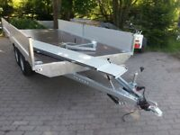 Car Trailer 6x2m with canvas and rack 2.7t NEW 2018 AT6020