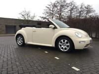 VOLKSWAGEN BEETLE 2004 AUTOMATIC. CONVERTIBLE ONLY DONE 79k with FULL HISTORY