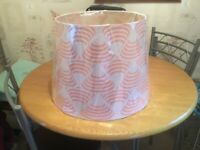 Extra large lamp shade. 12x13x17 inches