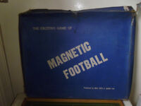 MAGNETIC FOOTBALL GAME FROM 1960'S
